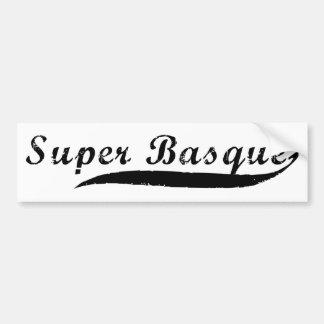 super Basque.png Bumper Sticker