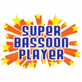 Super Bassoon Player Photo Cut Outs