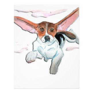 Super  beagle personalized flyer