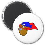 super bean 2 inch round magnet
