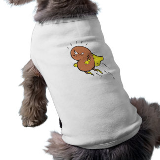 super bean cartoon character doggie tee