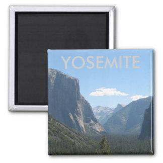 Super Beautiful Yosemite Magnet! 2 Inch Square Magnet