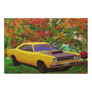 Super Bee Wood Wall Decor