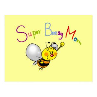 Super Beesy Mom Postcard