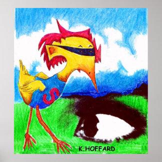Super Bird Posters