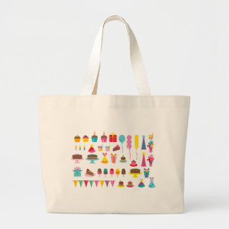 Super Birthday All Large Tote Bag