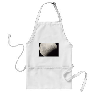 SUPER BLUE BLOOD MOON JANUARY 31ST 2018 ADULT APRON