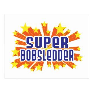 Super Bobsledder Postcard