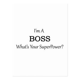 Super Boss Postcard