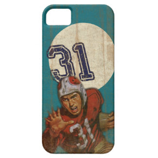 Super Bowl iPhone 5 Skin With Cool Vintage Print iPhone SE/5/5s Case