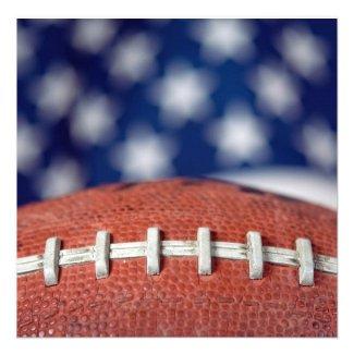 Super Bowl Party Personalized Announcement