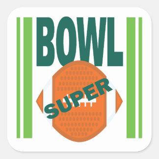 Super Bowl Square Sticker
