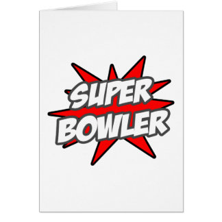 Super Bowler Greeting Card