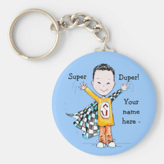 Super Boy keychain or backpack accessory!
