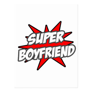 Super Boyfriend Postcard