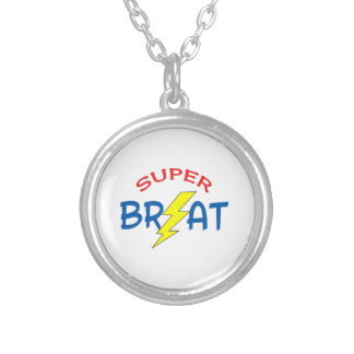 SUPER BRAT PERSONALIZED NECKLACE