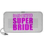 Super Brides : Board Certified Super Bride iPod Speakers
