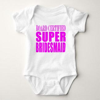 Super Bridesmaids : Pink Super Bridesmaid Baby Bodysuit