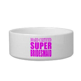 Super Bridesmaids : Pink Super Bridesmaid Pet Bowl