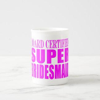 Super Bridesmaids : Pink Super Bridesmaid Tea Cup
