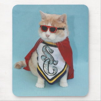 Super Bubba Cat Mouse Pads