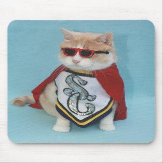 Super Bubba Cat Mouse Pads