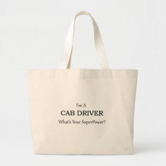 Super Cab Driver Large Tote Bag