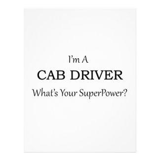 Super Cab Driver Letterhead