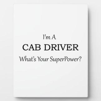 Super Cab Driver Plaque