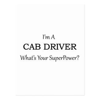 Super Cab Driver Postcard