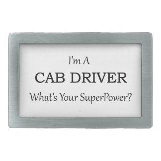 Super Cab Driver Rectangular Belt Buckle