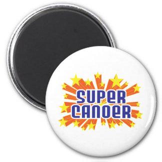 Super Canoer 2 Inch Round Magnet
