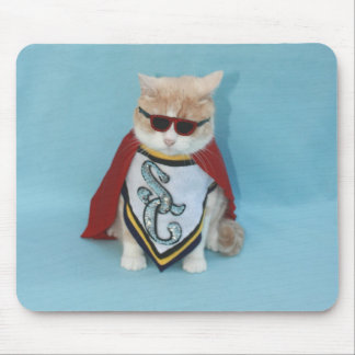 Super Cat Mouse Pad