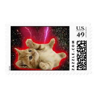 Super Cat Stamp