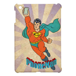 Super Cell Phone Man Case For The iPad Mini