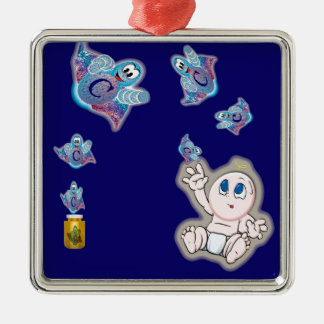 Super Cellular Comes Out Of The Medicine! Metal Ornament