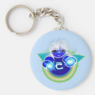 Super Celu, the healing and wellness doll for kids Keychain