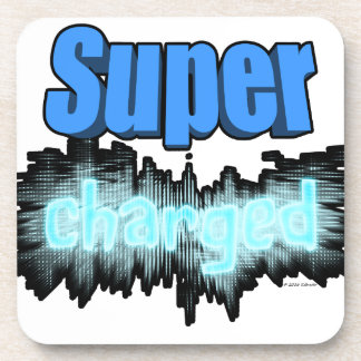 Super charged beverage coaster