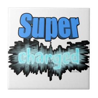 Super charged ceramic tile