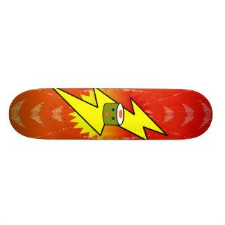 Super Charged Sushi - - Customized Skateboard