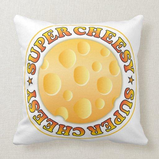 Super Cheesy Throw Pillows