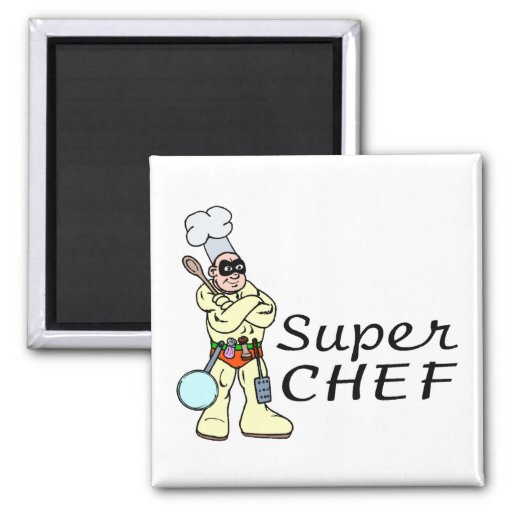 Super Chef Fridge Magnets