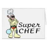 Super Chef Greeting Card