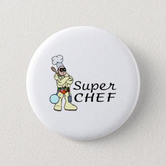 Super Chef Pinback Button