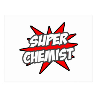 Super Chemist Post Card