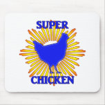 Super Chicken Mouse Pad