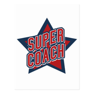 Super Coach Postcard