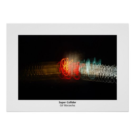 Super Collider Poster