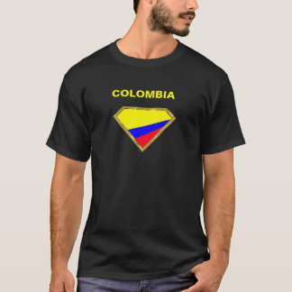 Super Colombia colors in Gold Diamond Playera
