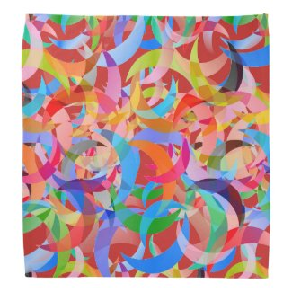 Super Colorful Crescent Bandana